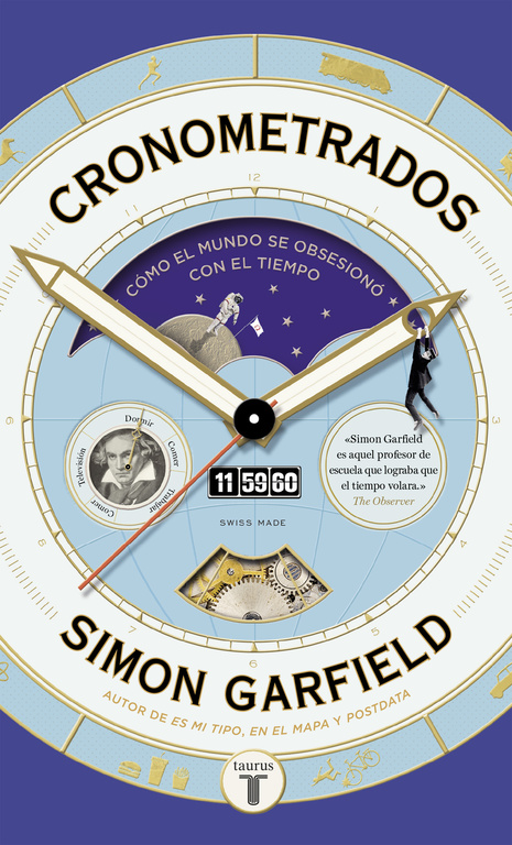 CRONOMETRADOS-GARFIELD, SIMON-9788430618453