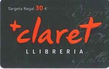 TARGETA REGAL 30€-EDITORIAL CLARET-003000002715