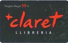 TARGETA REGAL 50€-EDITORIAL CLARET-5000000593