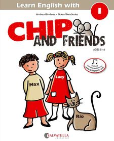 CHIP AND FRIENDS 1 (ENG)-GIMENEZ PUJAGUT, ANDREA-9788484127543