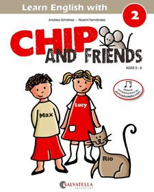 CHIP AND FRIENDS 2 (ENG)-GIMENEZ PUJAGUT, ANDREA-9788484127550