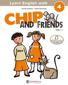 CHIP AND FRIENDS 4 (ENG)-GIMENEZ PUJAGUT, ANDREA-9788484127574