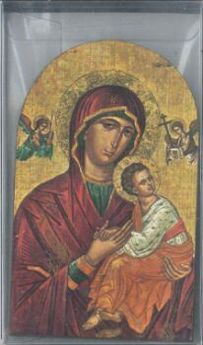 ICONO VIRGEN , PIE, ARCO 6,5X10,5-SALESIANA-9780406003119