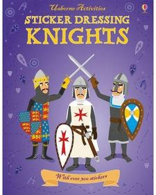 KNIGHTS STICKERS -AA.VV.-978-1-4095-0806-9