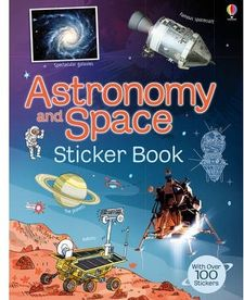ASTRONOMY AND SPACE STICKER BOOK -AA.VV.-9781409550037