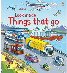 LOOK INSIDE THINGS THAT GO -A.A.V.V.-9781409550259