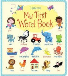 MY FIRST WORD BOOK -BROOKS, FELICITY-9781409551836