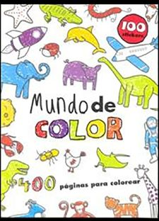 MUNDO DE COLOR + 100 STICKERS-VV.AA.-9781445469546