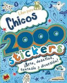 2000 STICKERS PARA CHICOS-VV.AA.-9781472302144