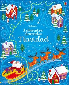 LABERINTOS DIVERTIDOS NAVIDAD-SMITH SAM-9781474926867