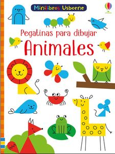 ANIMALES PEGATINAS PARA DIBUJAR-SMITH SAM-9781474949989