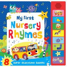 MY FIRST NURSERY RHYMES (SUPER SOUNDS)-AAVV-9781784404574