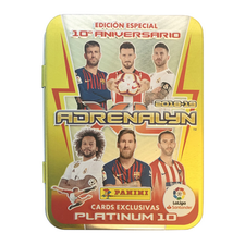 COMPACT TIN 10 AÑOS ADRENALYN XL 2018-2019-PANINI-9784248916170