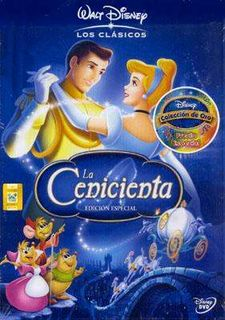 DVD- LA CENICIENTA-DISNEY-9787418358480
