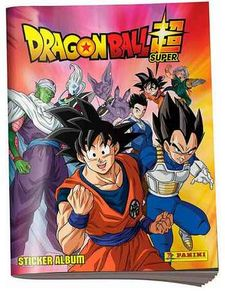 STICKER ABUM DRAGONBALL SUPER-PANINI-9788190000048