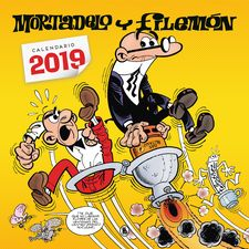 CALENDARIO MORTADELO Y FILEMÓN 2019-IBÁÑEZ, FRANCISCO-9788402421456