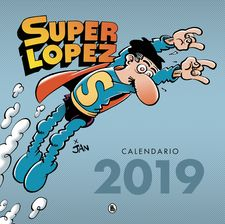CALENDARIO SUPERLÓPEZ 2019-JAN,-9788402421463