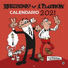 CALENDARIO 2021 MORTADELO Y FILEMÓN-IBÁÑEZ, FRANCISCO-9788402424563