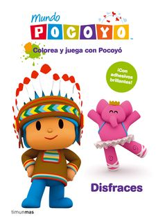 POCOYO: JUEGA Y COLOREA DISFRACES-ZINKIA ENTERTAINMENT, S.-9788408099147