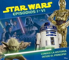 STAR WARS. EPISODIOS I-VI-AA. VV.-9788408141747