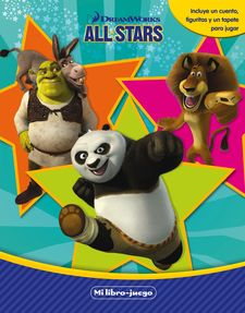 DREAMWORKS. ALL STARS. MI LIBRO-JUEGO -DREAMWORKS-9788408144854
