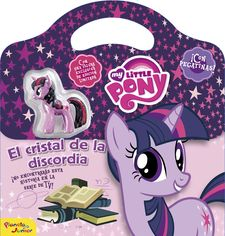 MY LITTLE PONY. EL CRISTAL DE LA DISCORDIA -MY LITTLE PONY-9788408155843