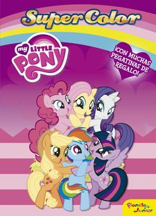 MY LITTLE PONY. SUPERCOLOR -MY LITTLE PONY-9788408157304