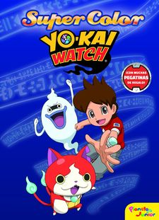 YO-KAI WATCH. SUPERCOLOR-YO-KAI WATCH-9788408167709