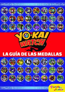 YO-KAI WATCH. LA GUÍA DE LAS MEDALLAS -YO-KAI WATCH-9788408178750