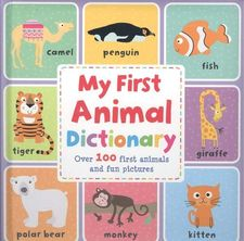 MY FIRST ANIMAL DICTIONARY-VV.AA.-9788413342054