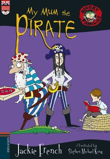 MY MUM THE PIRATE + CD-FRENCH, JACKIE-9788414011201