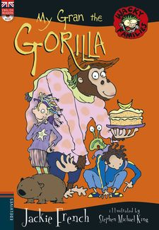 MY GRAN THE GORILLA + CD-FRENCH, JACKIE-9788414011218