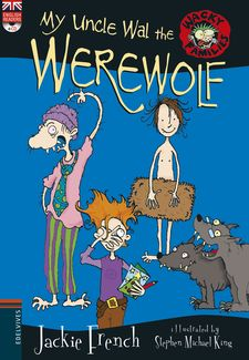 MY UNCLE WAL THE WEREWOLF + CD-FRENCH, JACKIE-9788414011225