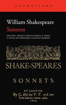SONETOS -SHAKESPEARE, WILLIAM-9788415689324