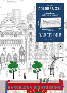 COLOREA XXL. BARCELONA -LAROUSSE EDITORIAL-9788416124695