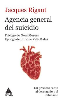 AGENCIA GENERAL DEL SUICIDIO-RIGAUT, JACQUES-9788416222148