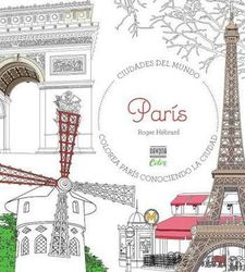 COLOREAR PARIS -HEBRARD ROGER-9788416259724