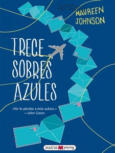 TRECE SOBRES AZULES -JOHNSON, MAUREEN-9788416363650