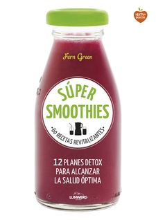 SÚPER SMOOTHIES -GREEN, FERN-9788416489152