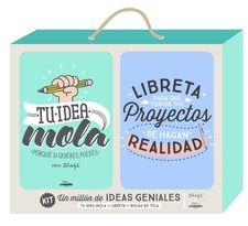 KIT UN MILLÓN DE IDEAS GENIALES -MR. WONDERFUL-9788416489206