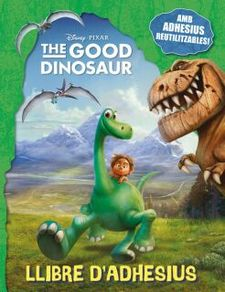 THE GOOD DINOSAUR. LLIBRE D'ADHESIUS -DISNEY-978-84-16519-02-6