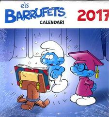 EL CALENDARI DELS BARRUFETS 2017 -EDITORIAL BASE-978-84-16587-49-0