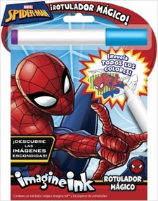 SPIDER-MAN. ROTULADOR MÁGICO-MARVEL-9788416914159