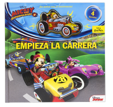 MICKEY Y LOS SUPERPILOTOS. EMPIEZA LA CARRERA-DISNEY-9788416917396