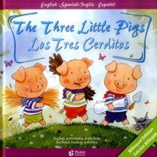 THE THREE LITTLE PIGS / LOS TRES CERDITOS-CANDELL / HOLVARTH-9788417079000