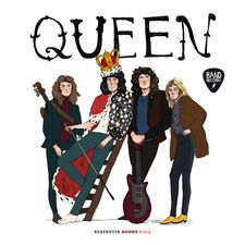 QUEEN (BAND RECORDS 4)-ROMERO MARIÑO, SOLEDAD / CASTELLÓ CARRERAS, LAURA-9788417511180