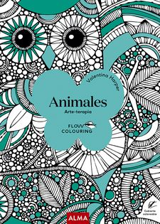 ANIMALES (FLOW COLOURING)-HARPER, VALENTINA-9788418395444
