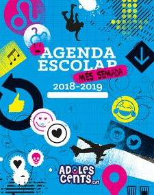 L'AGENDA ESCOLAR MÉS SEMADA. 2018-2019-ADOLESCENTS.CAT-9788424663339
