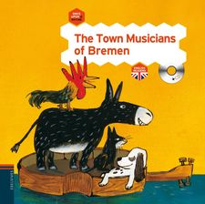 THE TOWN MUSICIANS OF BREMEN -EDELVIVES-9788426389312