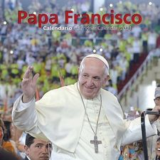 CALENDARIO PAPA FRANCISCO 2021 - PARED-MENSAJERO-9788427144101